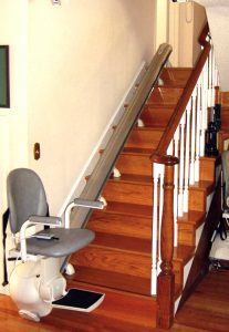 stair chair lift stairs