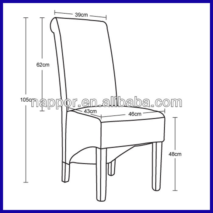 standard chair dimensions