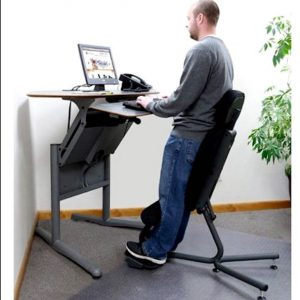 standing desk chair stand up chair