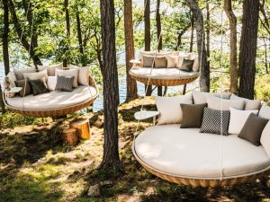 sunning lounge chair outdoor furniture dedon swingrest at kuhl linscomb