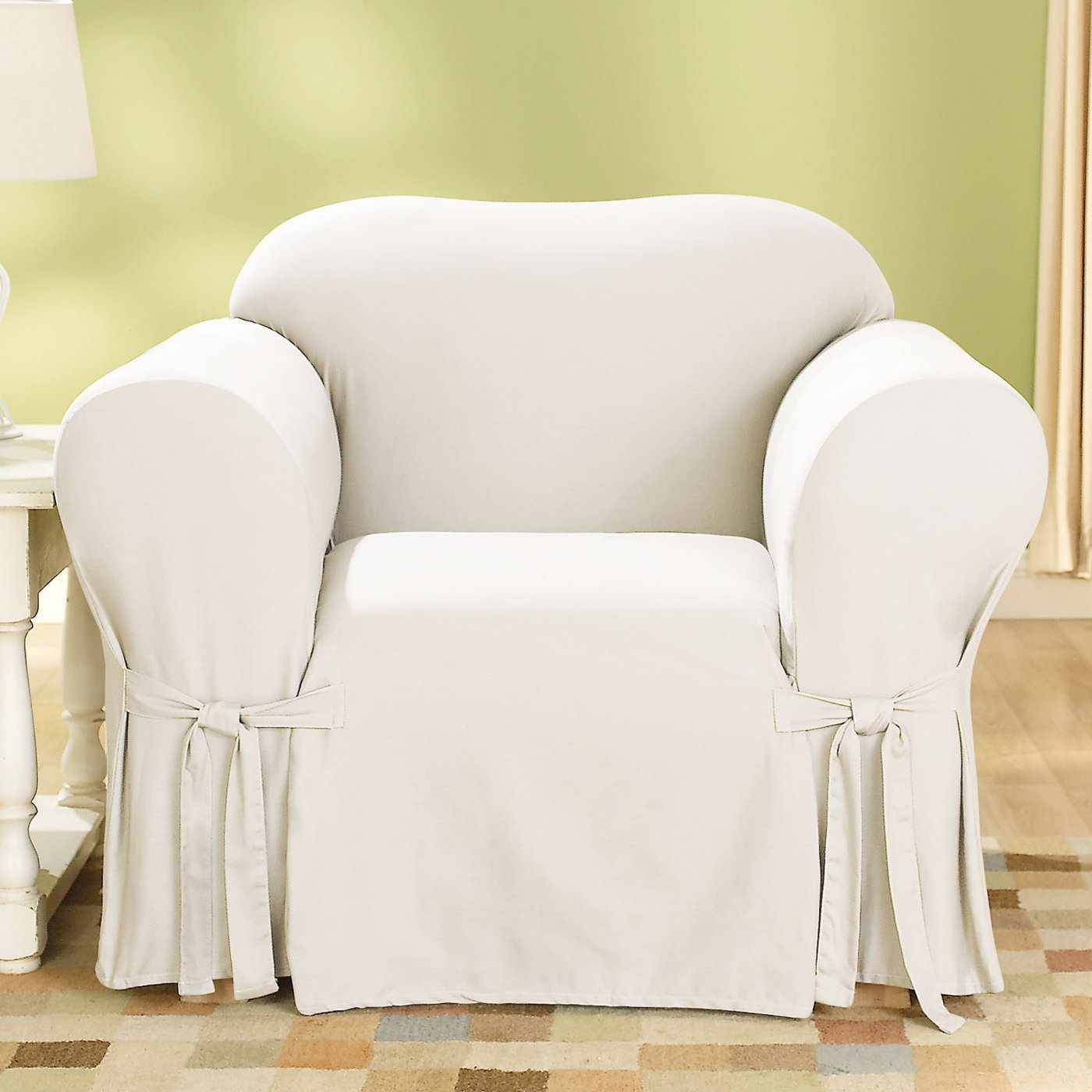 Positive Match Slipcover Chair. Sure Fit Slipcover Chair