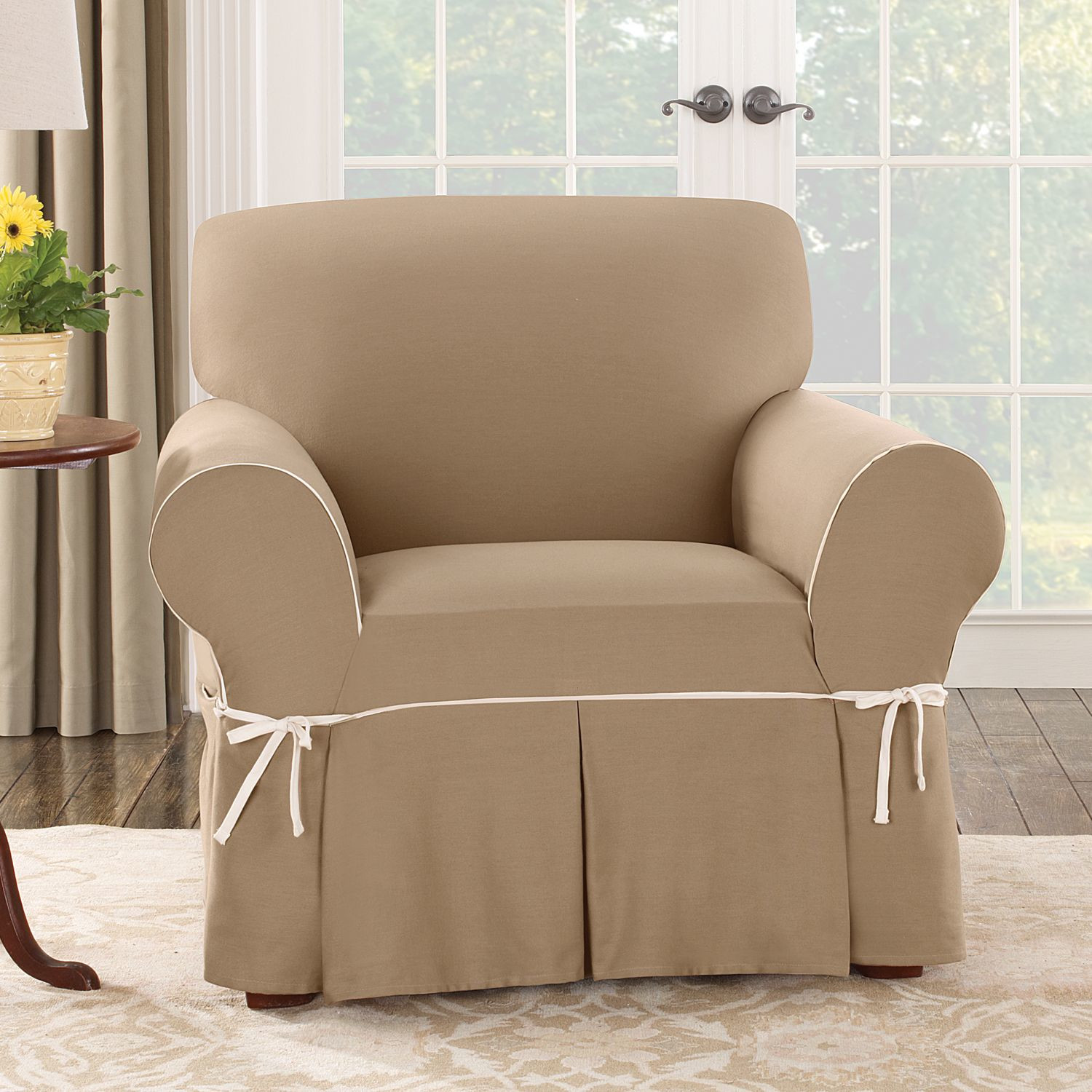 surefit chair slipcovers fit cotton barrel chair slipcovers