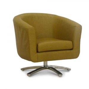 swivelling tub chair swivel tub chair faux tan leather