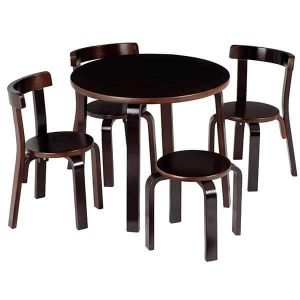 table chair set for toddlers s toddler table chair set espresso