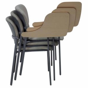 tablet arm chair haworth improv tablet stack gray