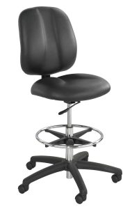 tall desk chair safco apprentice black contoured tall vinyl office chairs