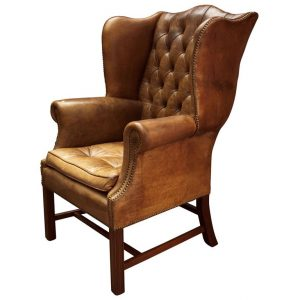 tall wingback chair