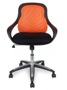 target desk chair orange office chair target