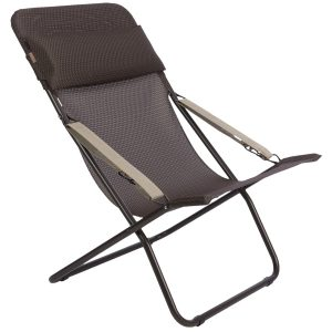 target folding chair lafuma transabed xl folding lounge chair batyline in mocha marron brown frame~p~t ~