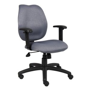task chair with arms b gy