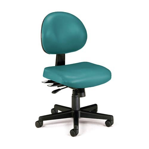 teal desk chair