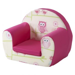 toddler foam chair foam chair single owls ()