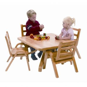 toddler table and chair set angeles naturalwood square toddler table and chair set ab