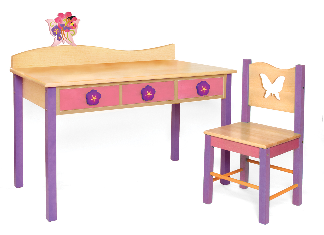 toddlers desk and chair set