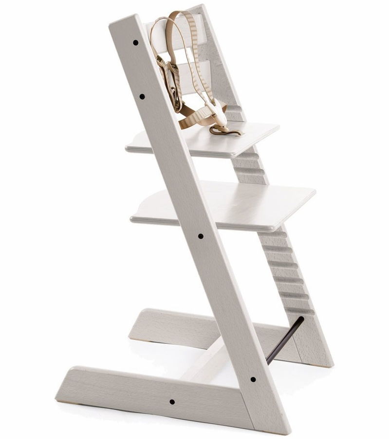 tripp trapp high chair stokke tripp trapp high chair in white