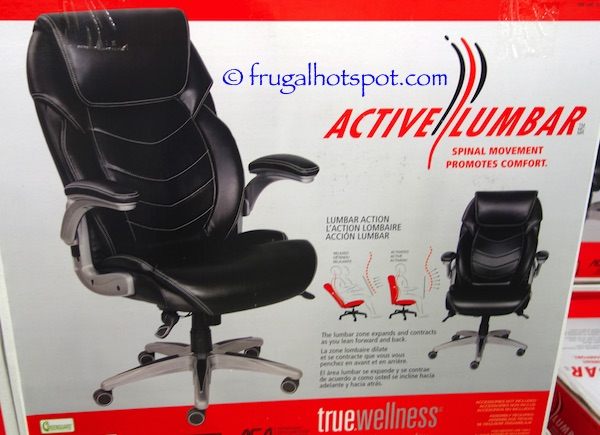 true innovations active lumbar chair