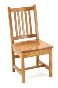 unfinished kitchen chair pid amish mission dining chair