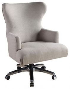 upholstered swivel chair fafce w h b p transitional office chairs