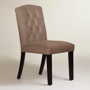 velvet tufted chair xxx v