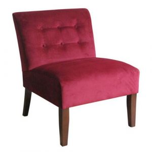 velvet tufted chair kinfine k b