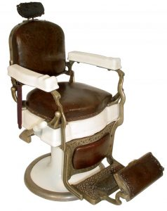 vintage barber chair antique barber chair