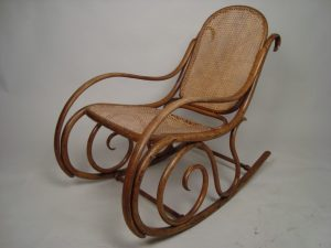vintage rocking chair antique cane rocking chair c