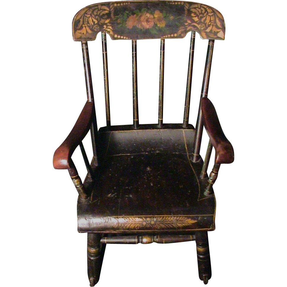 vintage rocking chair w l