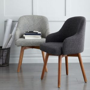 west elm office chair saddle office chair