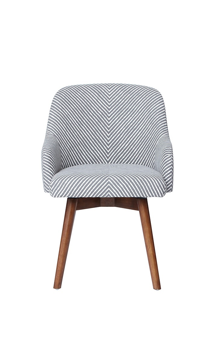 westelm desk chair west elm saddle office chair painted stripe
