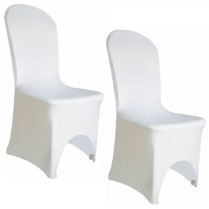 white chair covers chair cover