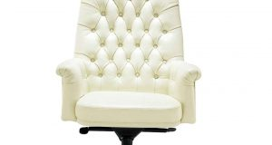white desk chair swivel luxury white leather office chair