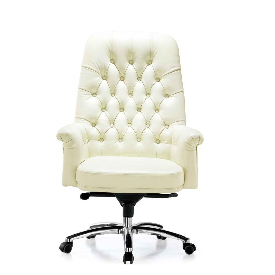 Leather Swivel Office Chair. White Desk Chair Leather Swivel Office H