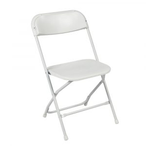 white foldable chair s l