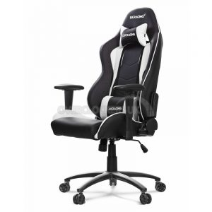 white gaming chair gckr x