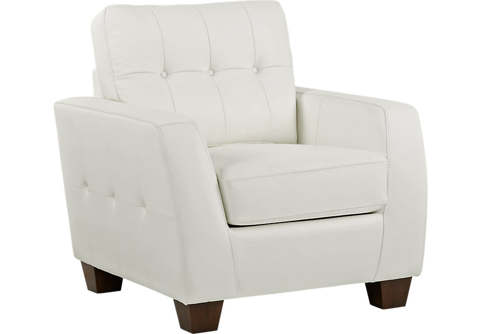white leather chair lr chr santoro white~santoro white leather chair