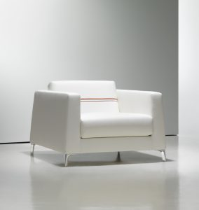 white lounge chair fine modern white lounge chair red detail