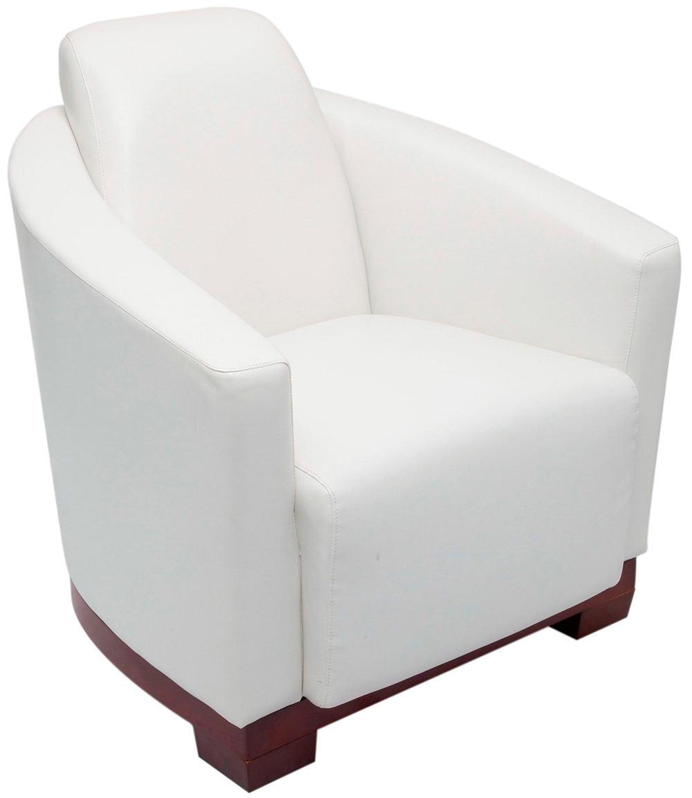 white lounge chair pluto wpu