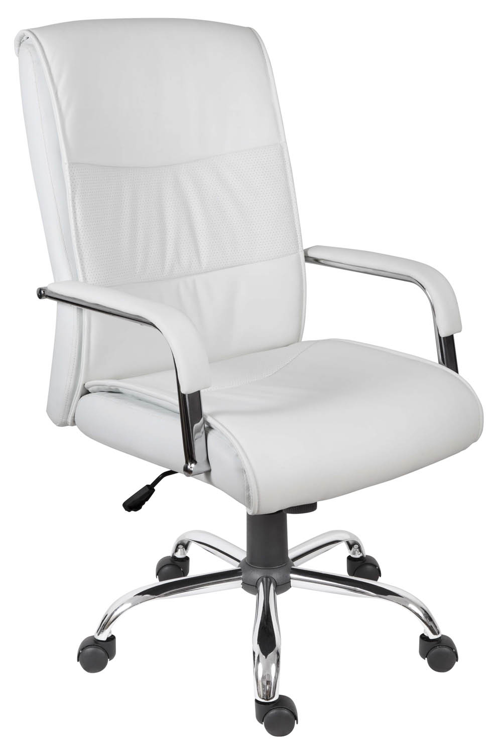 office chair white leather. White Office Chair Leather T