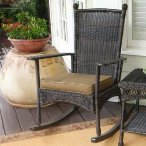wicker chair outdoor hi res rocking chair