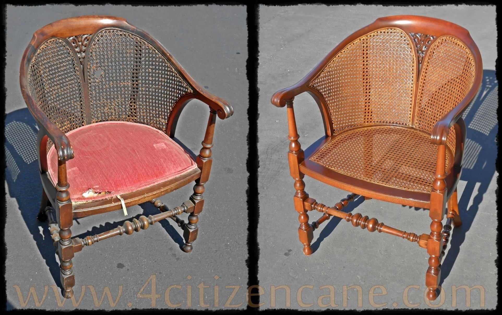 wicker chair repair