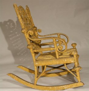 wicker rocking chair stshefdec