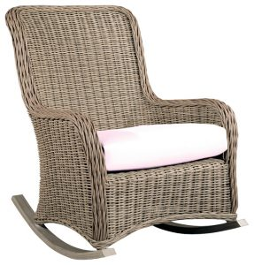 wicker rocking chair traditional outdoor chairs