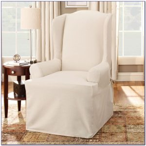 wing chair slipcovers with separate cushion cover wing chair slipcover with separate cushion cover