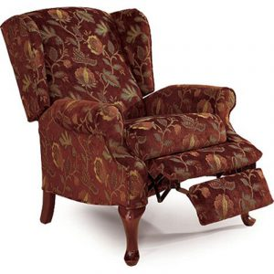 wingback recliner chair lane o