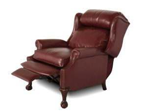 wingback recliner chair p chm angled c