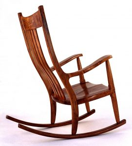 wood rocking chair rocking chair mesquite