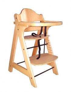 wooden high chair for babies whi wooden baby high chair with tray