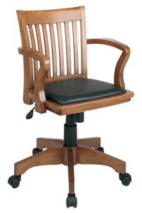 wooden office chair fw