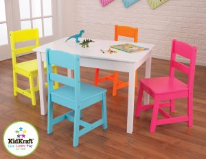 wooden table and chair set for toddlers a highlighter table n chair set