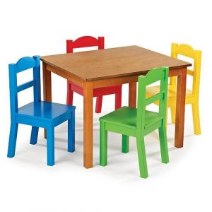 wooden table and chair set for toddlers fun wooden table and chair sets